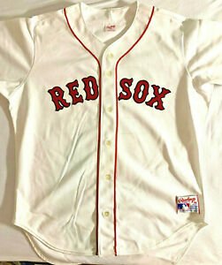 Vintage New w/o tags Sz 48 Authentic Rawlings 1990 Red Sox Roger Clemens Jersey