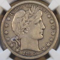 1895-O Barber Half Dollar NGC VF25