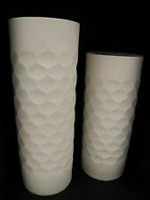 Zeh Scherzer 2 Vasen 502-1 502-2 Pop Art Werner Uhl 70er Jahre matt unlasiert