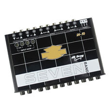 12V 200W IA-10 7-Band Car Sound Audio Equalizer EQ w/ Front Rear + Sub Output
