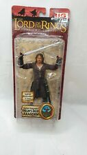 Lord of the Rings Aragorn Helms Deep Super Poseable action Figures,toybiz