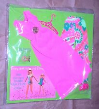 Vintage Mod 1971 Barbie Stacey Evening In Hostess Outfit MOC TNT Era Mint