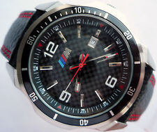 BMW M Power Motorsport Carbon Dial Design Racing Accessory Business Sport Watch