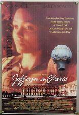 JEFFERSON IN PARIS DS ROLLED ORIG 1SH MOVIE POSTER THANDIE NEWTON (1995)