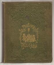 PARLOUR MAGIC A Manual of Amusing Experiments etc... Legerdemain 1853