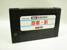 Msx NINJA SHADOW Only cartridge Import Japan Video Game msx