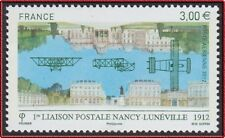 2012 FRANCE PA 75** 1ère Liaison Postale Nancy - Lunéville Avion, France 2012 NH