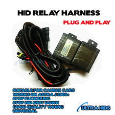 ASTRA J 2009 ONWARDS RELAY HARNESS CANBUS H7 HID XENON CONVERSION KIT