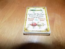 RIVERS EDGE LURES of the PAST PLAYING CARDS Card Deck Fishing Lure SEALED NEW