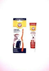 Arm & Hammer SMALL BREED Toothbrush Set & Enzymatic Toothpaste For Dogs *NEW*