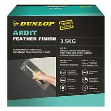 Dunlop ARDIT FEATHER FINISH 3.5Kg Cement-Based Smooth Floor Compound *USA Brand