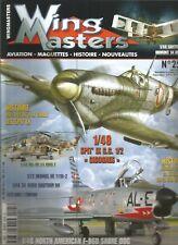 WINGMASTERS N°25 FEVRIER 1944 LA BIG WEEK DE LA 8th USAAF / SPIT' IX G.C CIGOGNE