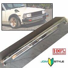 Toyota Corolla 1300 E70 KE70 TE71 TE72 Front Bumper Steel Chrome GL New ~JDM