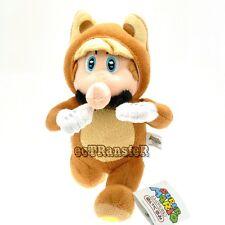 "New Super Mario Bros 8"" Running Raccoon Tanooki Mario Cute Plush Toy Doll/MX2707"