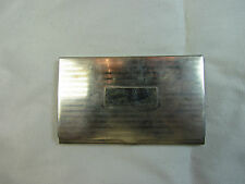 "Vintage 925 Sterling Silver ""Tiffany"" Company Business Card Holder /Case 58.7 g"