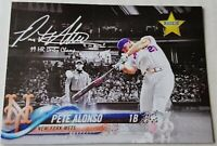 PETER PETE ALONSO 2019 STAR Rookie Card RC Custom New York Mets 53 HRs Champ