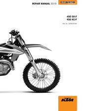 KTM Service Workshop Shop Repair Manual Book 2019 450 XC-F
