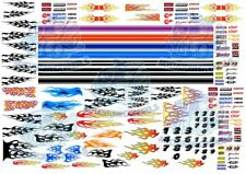 Racing Pack 3 - Flames, Stripes & Generic Race Decals for 1:64 scale Hot Wheels