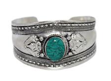 Turquoise Bracelet Gypsy Bracelet Silver Bracelet Tribal Bracelet Boho Hippie