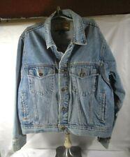 "Vintage 80's ""Denim Jacket"" ""Exp"" ""Jeans By Express"" Light Blue Ready To Wear"