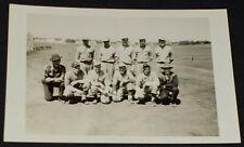 1930-1940's - BASEBALL TEAM - REAL PHOTO - POSTCARD - ORIGINAL