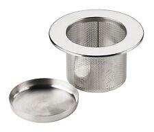 Infusor de té filtro colador tamiz & bandeja de Metal de acero inoxidable - Chiswick té Co