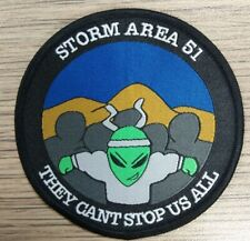 Area 51 patch.  They Can't Stop Us All Patch