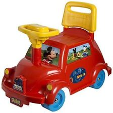 Disney Mickey Mouse Auto Buggy - Ride on Walker Car Toy for Young Children