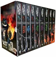 Skulduggery Pleasant Series Derek Landy 9 Books Collection Box Set (Book 1-9)NEW