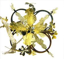 Christmas Tree Ornament Watervale Gold Map Snowflake Irish Decoration 8151
