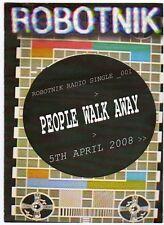 (EF856) Robotnik, People Walk Away - 2008 DJ CD