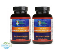2 x Blue Ice™ Fermented Skate Liver Oil | 240 Capsules | Green Pasture - Omega 3
