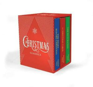 Christmas Classics by Charles Dickens (English) Hardcover Book Free Shipping!