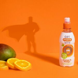 Multi Vitamin Kids Drink Orange & Mango 12x330ml by Get More Vits