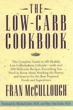 (W) The Low-Carb Cookbook By Fran McCullough VERY GOOD CONDITION.