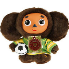 Cheburashka football player Talking Plush Soft Toy Чебурашка 6.5''/17 cm