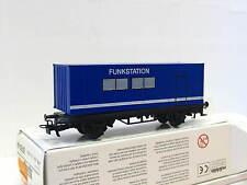 Märklin H0 00758-04 Containertragwagen Funkstation OVP (N9764)