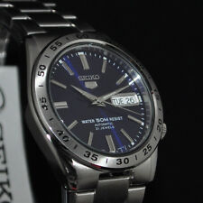 Seiko 5 Reloj Para hombres Automático Esfera Azul 50M resistente al agua SNKD 99K1 Reino Unido Vendedor