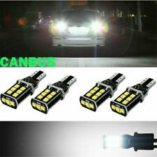 2X 921 LED Reverse Light Canbus Error Free 912 T15 W16W Backup Bulb White 1200LM