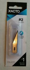 X-Acto #2 Blade - 1 pack of 5 blades (X202)