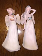 """New listing Tii Collections Resin Garden Angels Lot Of Two D1312 10"""""""