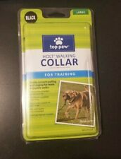 Top Paw Holt Walking Collar For Training Large Dogs - Black - Manual Included