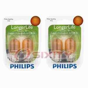 2 pc Philips Front Turn Signal Light Bulbs for Scion iQ tC xB 2005-2015 xq