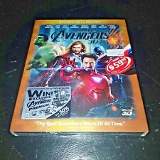 Marvel's The Avengers Assemble 3D+2D Full-Slip Exclusive Steelbook New & Sealed+