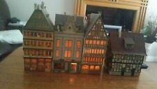 """Vintage Faller/Vollmer HO/00""""  W. Germany Railways Scenery Buildings Bundle."""