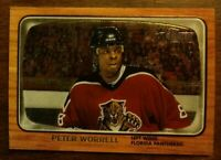 2002-03 Topps Heritage Chrome Parallel #96 Peter Worrell 035/667 Fla Panthers CS