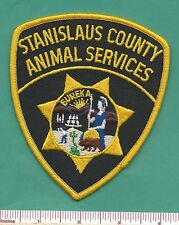 Stanislaus County CA State of California Animal Services Law Enf. Police Patch