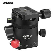 "Indexing Rotator HDR Panorama Panoramic Ball Head with 1/4"" Quick Release Plate"