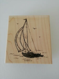"Stampin up Holzstempel ""Sail Away"""