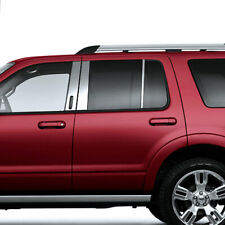 6pc Stainless Steel Pillar Post Covers for 2002-2010 Mercury Mountaineer